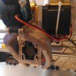 Крепление хотэнда E3D V6 к директ-экструдеру МК8