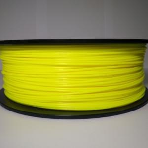 PLA пластик 1.75 мм. желтый 1 кг.