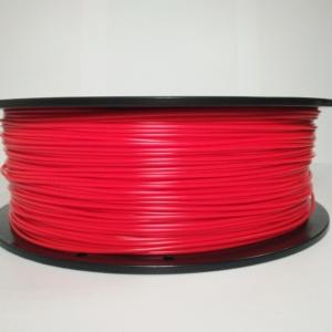 PLA пластик 1.75 мм. красный 1 кг.