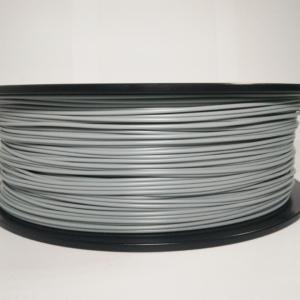 PLA пластик 1.75 мм. серый 1 кг.