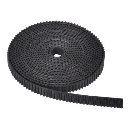 Ремень GT2 6 мм резина черный