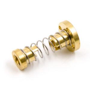 Антилюфт-гайки для трапециевидного винта 8 мм