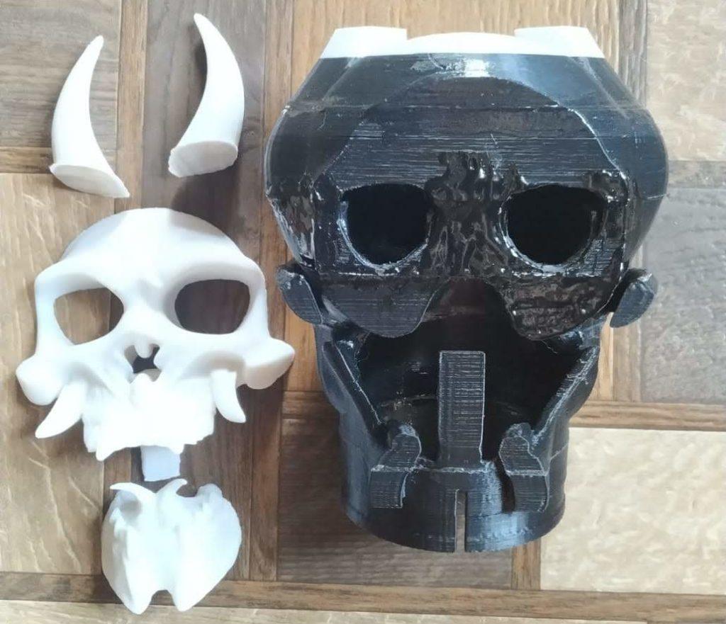 череп шноркель