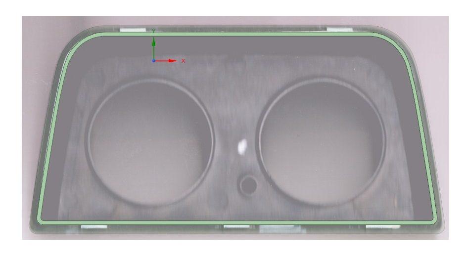 3Д моделирование рамки кренометра