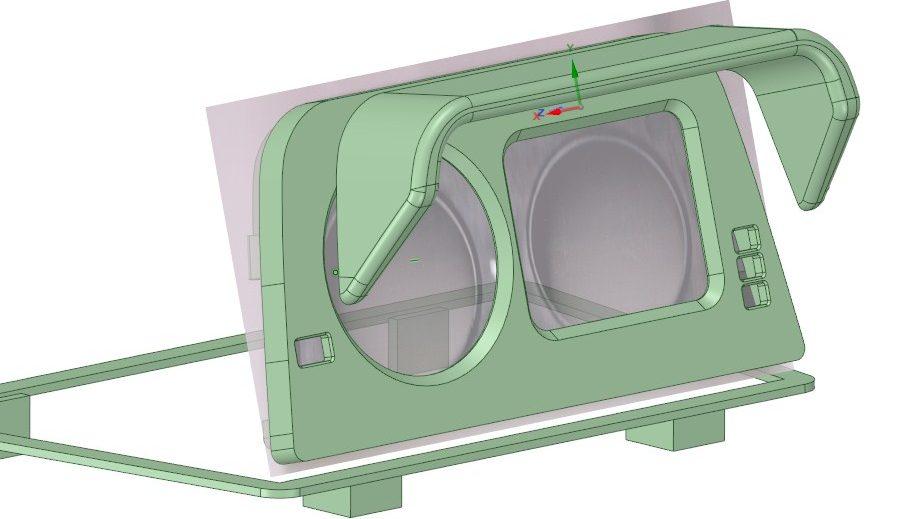 Кренометр эскудо 3Д модель